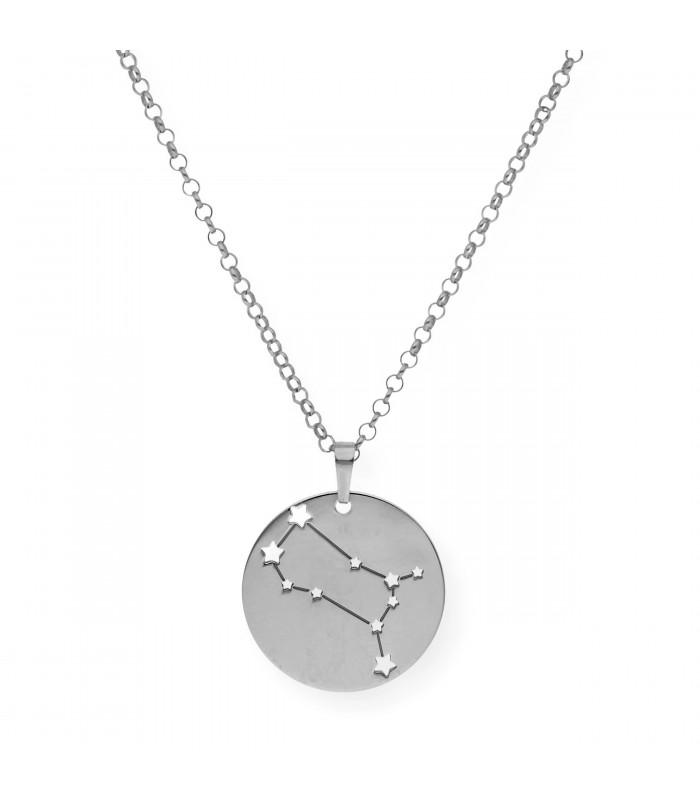 Colgante Infinito en plata de primera ley con dos nombres accesorios de moda online Silver and Steel