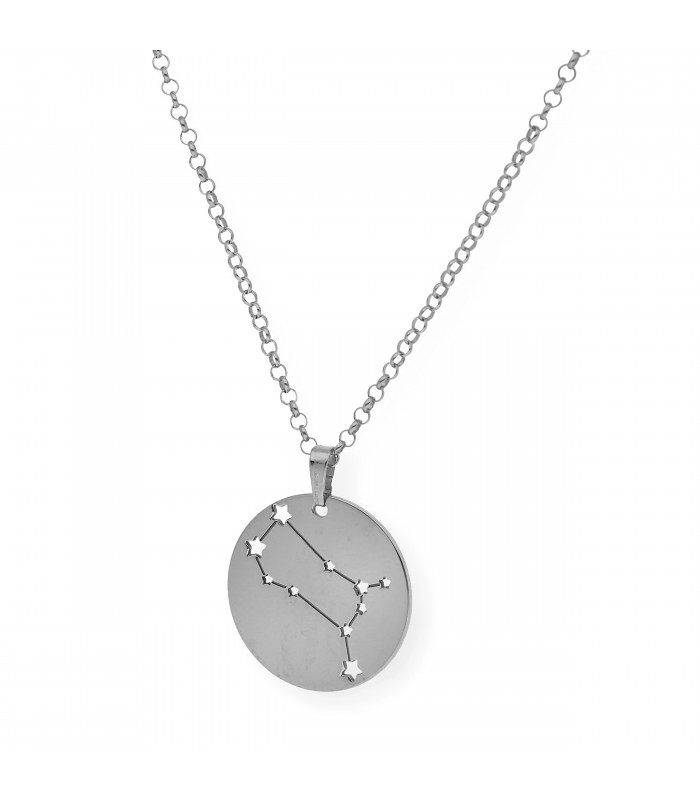 Colgante Infinito en plata bañada en oro con dos nombres accesorios de moda online Silver and Steel