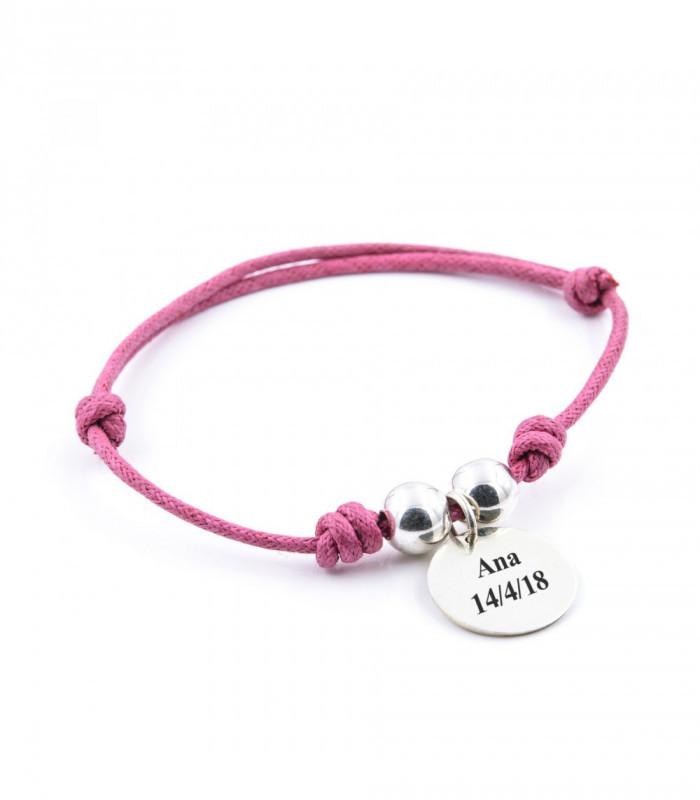 Pendientes largos con perlas y rubies