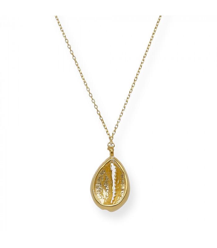 Pendientes largos con cadena en oro de 18 kt. con perlas de Tahití