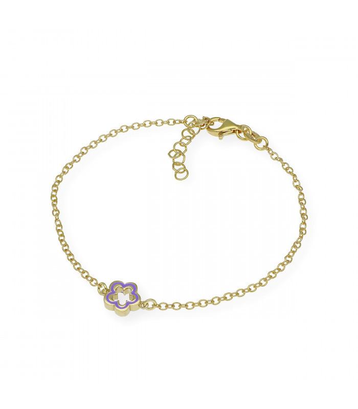Pendientes largos de perlas boton en plata oro