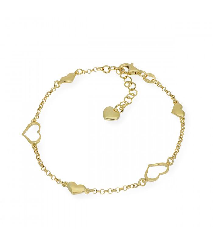 Gargantilla de oro amarillo de 18 kt. con colgante incrustación de diamante talla brillante