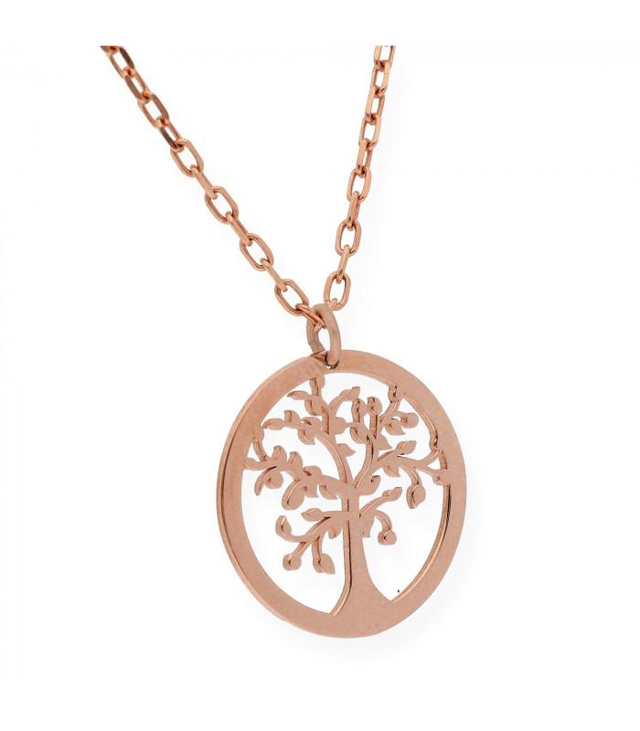 Colgante de plata rosa Star 40mm joyas personalizadas joreria online joyerias