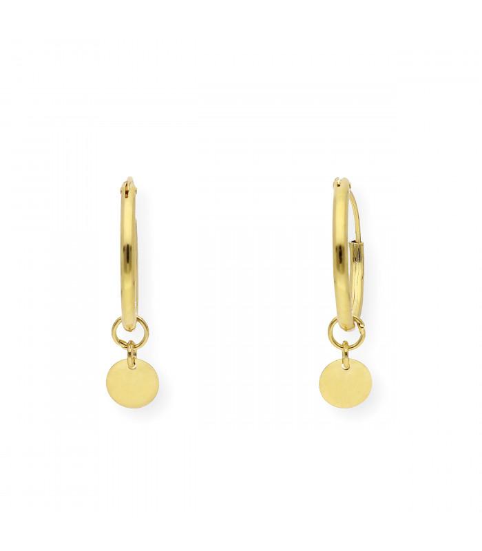 Pendientes de oro blanco con ocho brillantes y perlas cultivadas