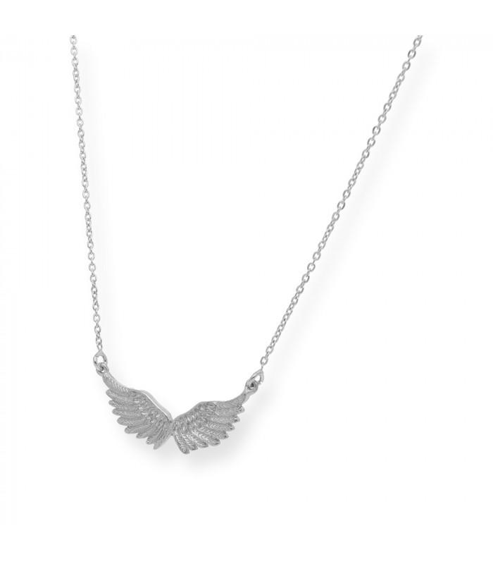 Pendientes de oro blanco de diseño oval con brillantes y perlas cultivadas