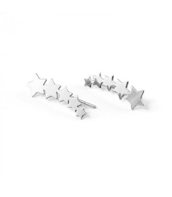 Colgante Monograma de plata con cerco. Joyas personalizadas. Silver & Steel. Castellano Joyeros. Badajoz