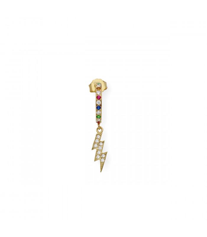 Pendientes de oro y perlas Akoya de 6 mm