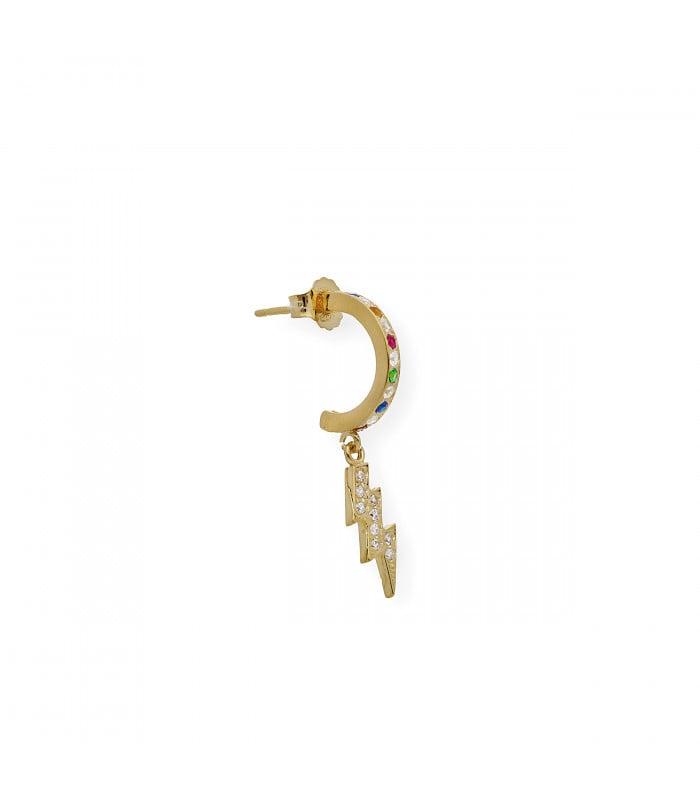 Pendientes de oro y perlas Akoya de 9 mm