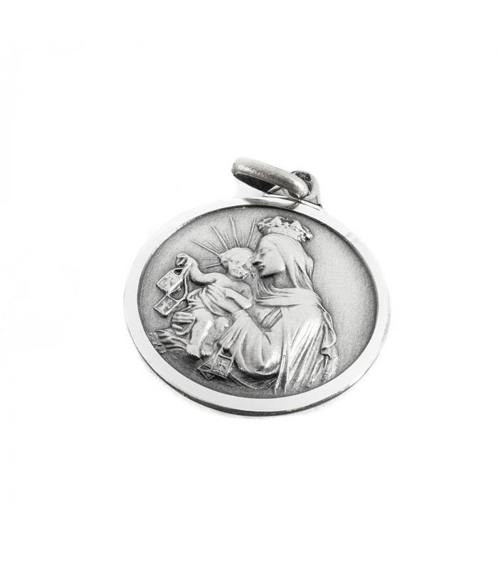 Colgante de plata y circonitas talla brillante Mariposa