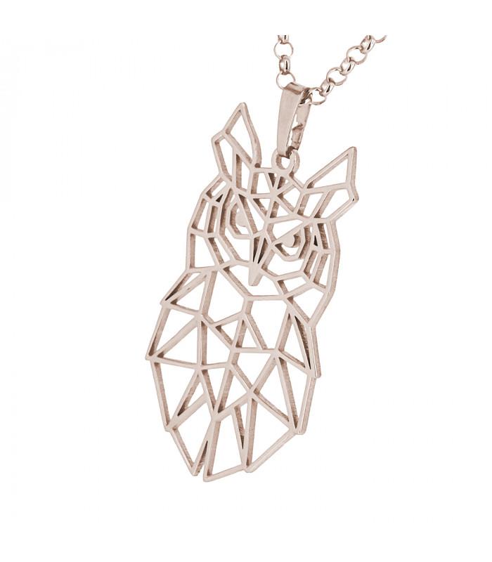 Pulsera de plata oro Stone con Rosa de los Vientos
