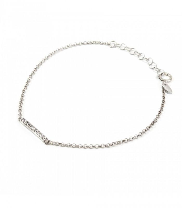 Colgante media luna y estrella plata bañada oro accesorios de moda online Silver and Steel