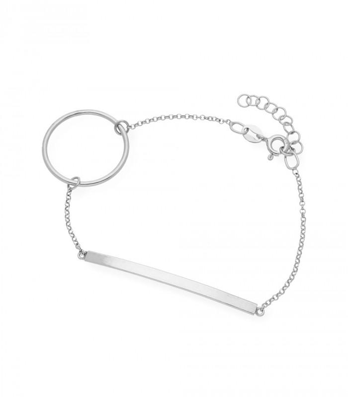 Colgante de corazón de plata bañada en oro accesorios de moda online Silver and steel