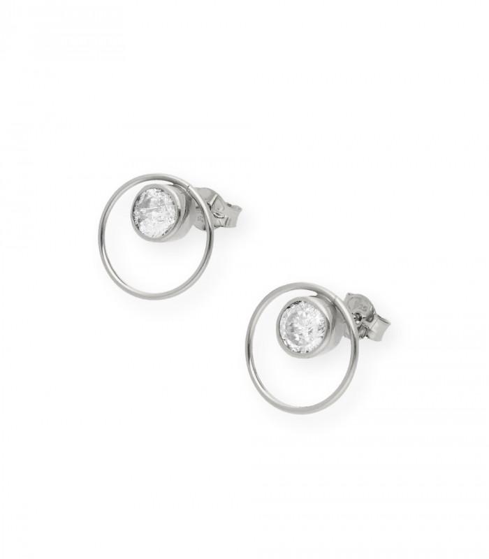Pulsera de alas de plata con cadena accesorios de moda online silver and steel