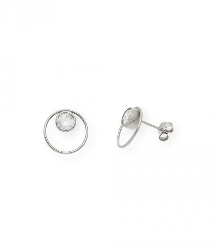 Pendientes de alas de plata accesorios de moda online silver and steel