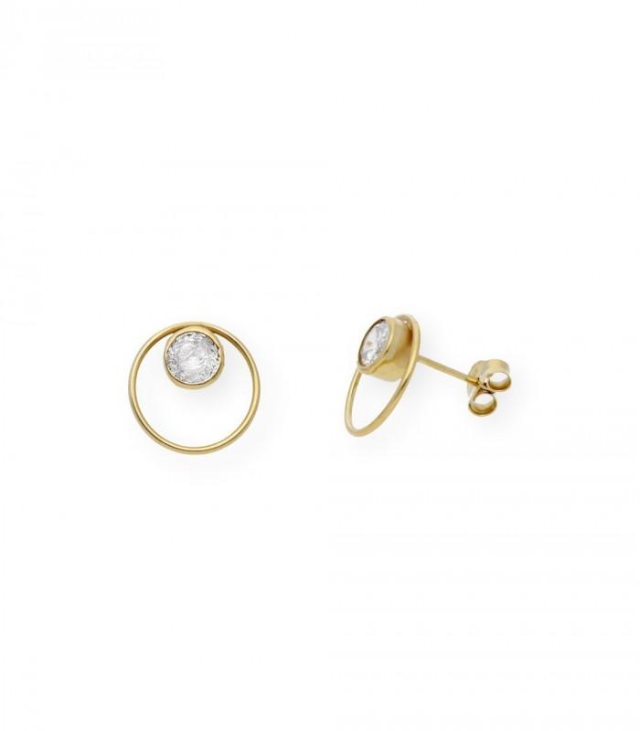 Pendientes de perlas australianas 10 mm y oro