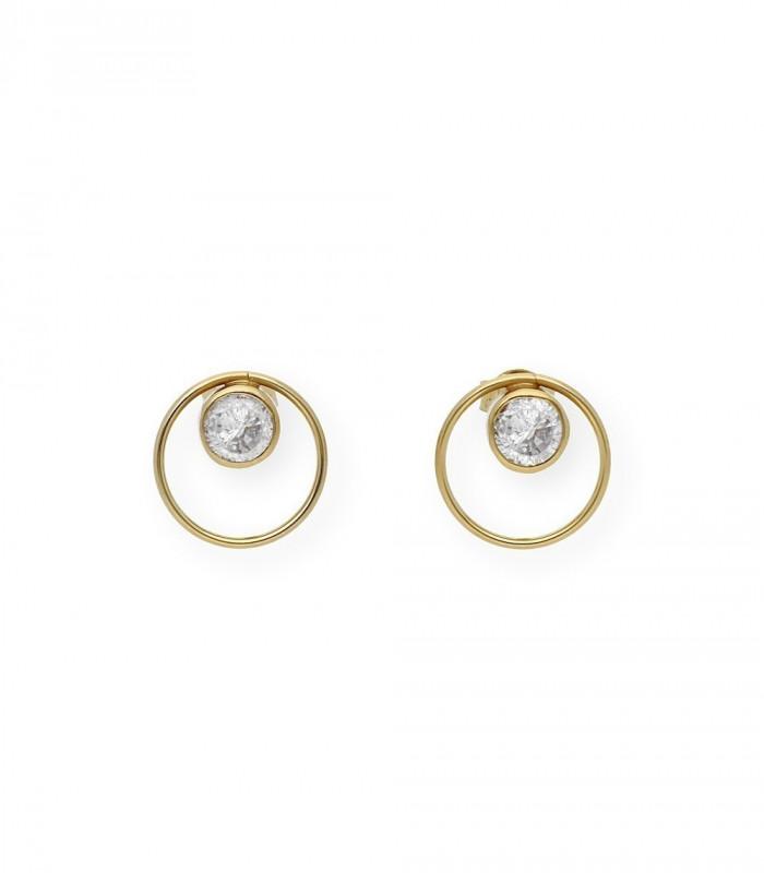 Pendientes de perlas australianas 12 mm y oro
