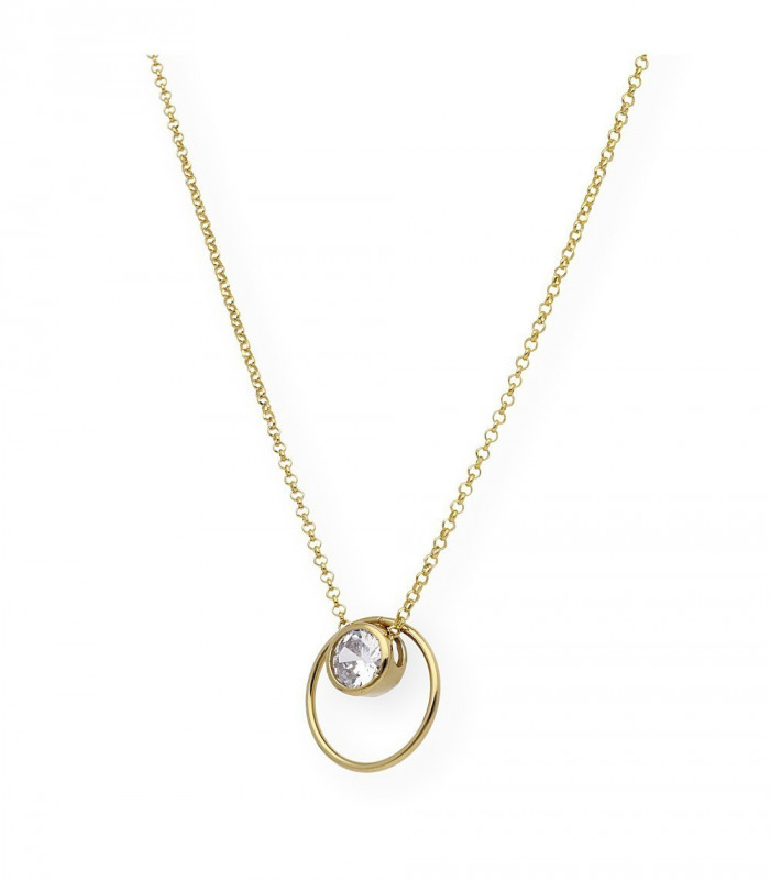 Colgante ovalado nácar grande personalizado plata accesorios de moda online Silver and Steel
