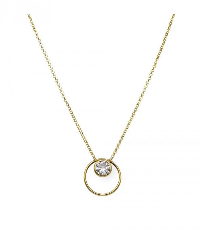 Colgante ovalado ónix pequeño personalizado plata accesorios de moda online Silver and Steel