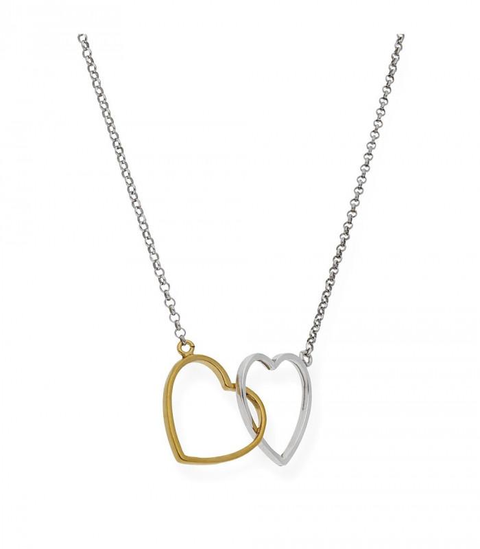 Pulsera cuero y nácar ovalado 30 x 18 mm nombre plata accesorios de moda online Silver and Steel