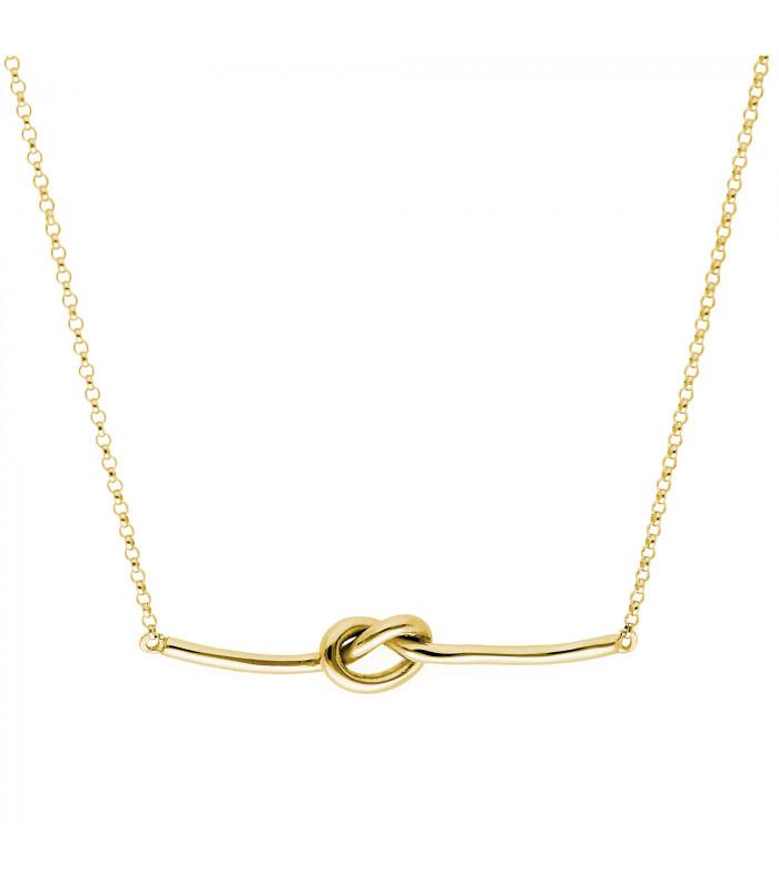 Colgante Letra Inicial Horizontal oro accesorios de moda online silver and steel
