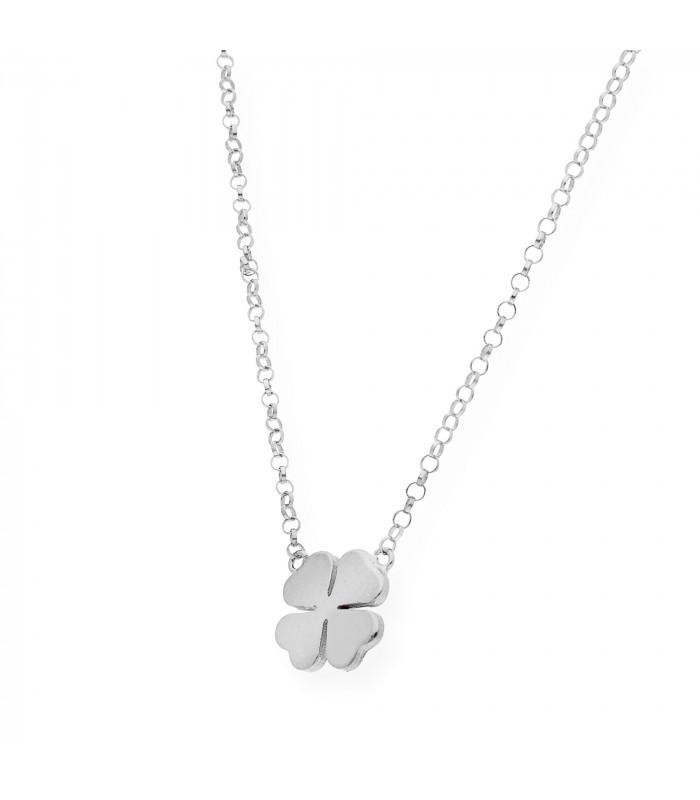 Colgante mi nombre en plata dorada accesorios de moda online Silver and Steel
