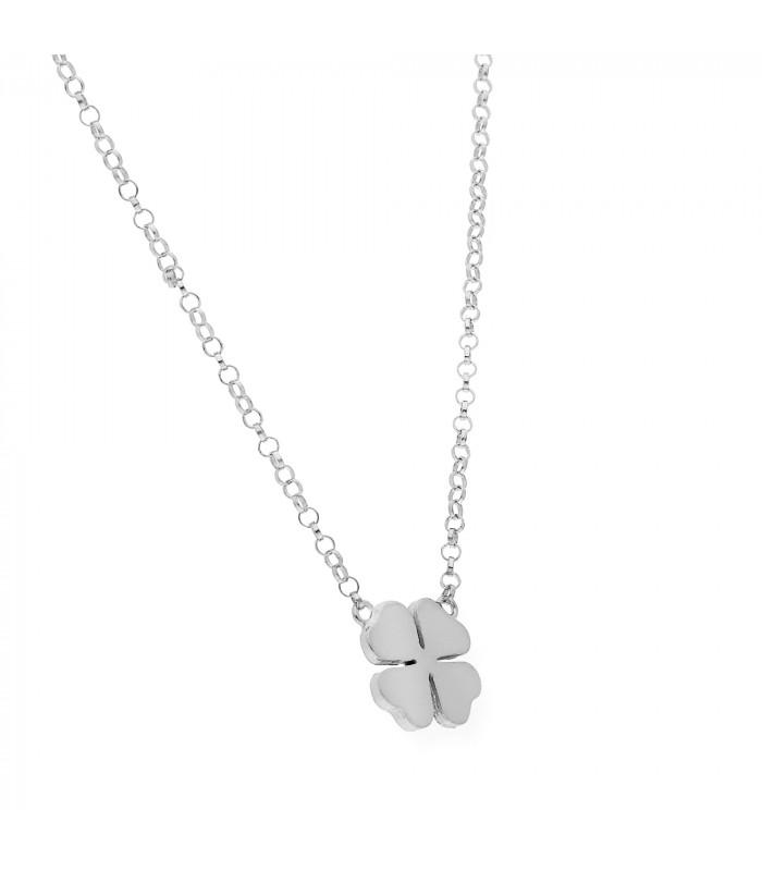 Colgante nácar Comunión 30 mm plata accesorios comunion niña silver and steel